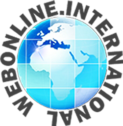 Web online international Logo